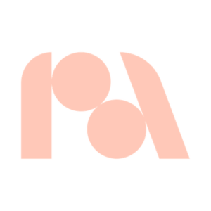 Company Performance Art logo - Pink P and Pink A
